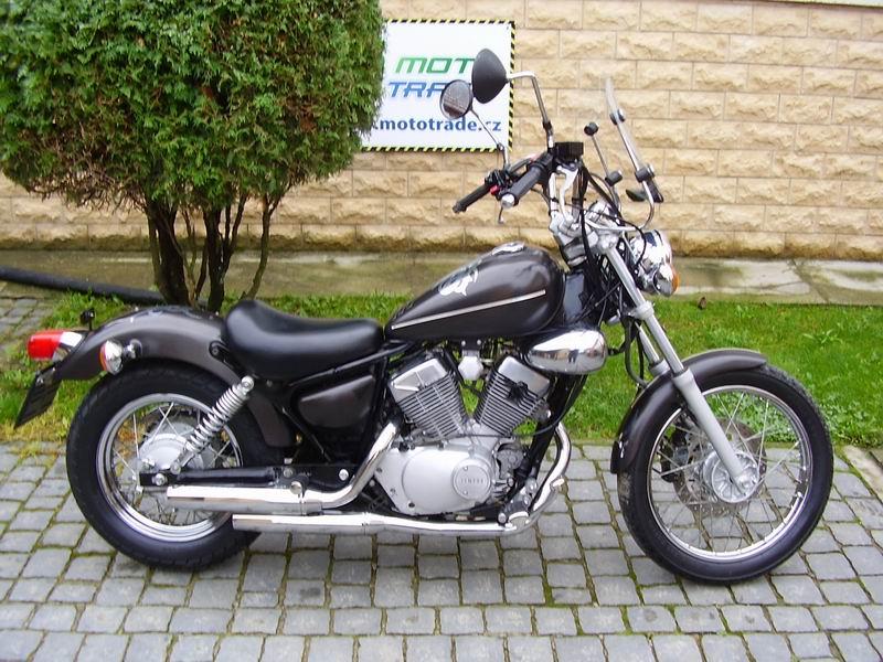 Yamaha XV 125 Virago Rv 2002 2003 Najeto Pouze 10000km Vykon V TP 85kW Jeden Majitel Pneumatiky 80 Bez Dalsich Investic Dohoda Mozna