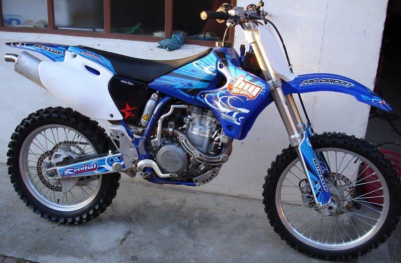 Moto trade yamaha yz 426 f for Yamaha yz 426